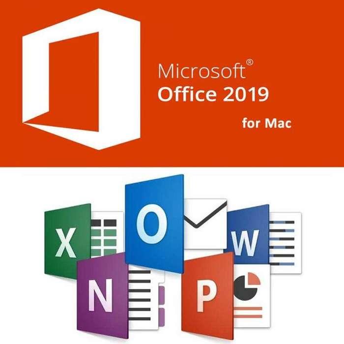 Licencia Original Office Home & Business 2019 Para Mac