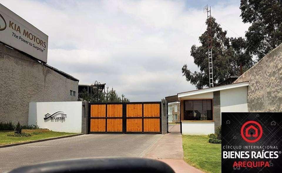 Venta de Terreno en exclusiva Urbanización Casa Club El Cortijo - Cerro Colorado