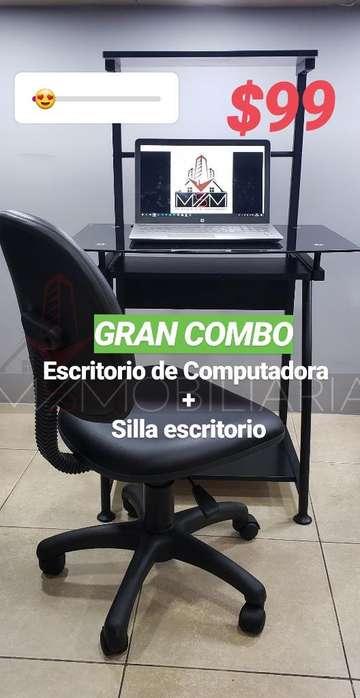 Escritorio de Computadora Incluye Silla