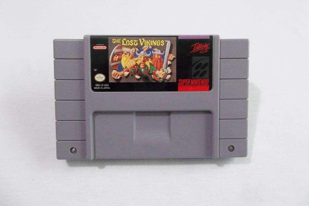 The Lost Vikings Super Nintendo SNES - Pixelfunk