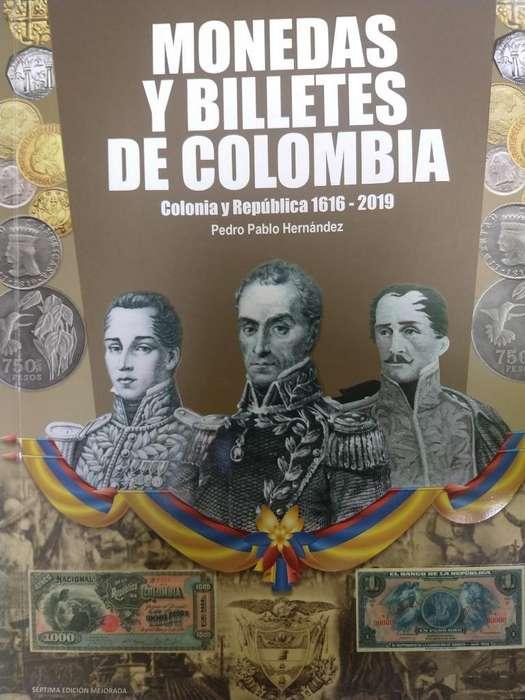 Libro de Monedas Ybilletes de Colombia