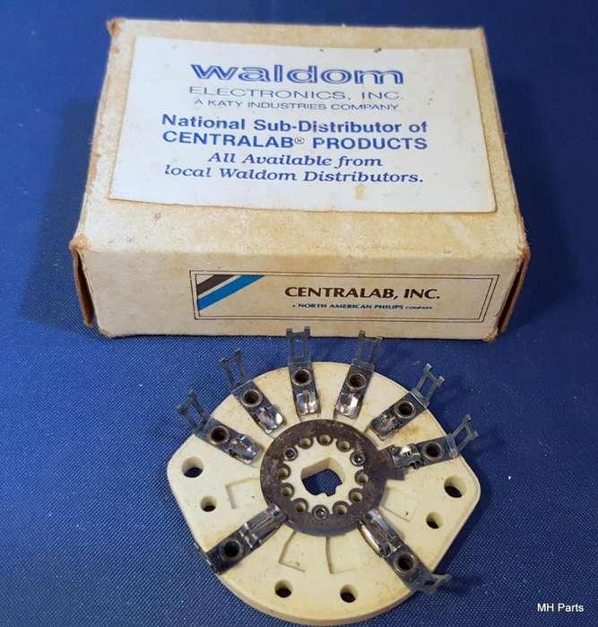 Sección del interruptor waffer de cerámica Centralab TD SHORTING NOS