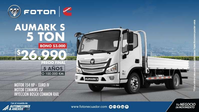 CAMION FOTON AUMARK S 5 TN