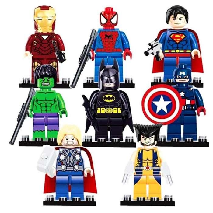 Colección Original Set De Figuras Lego Avengers ¡nuevo!