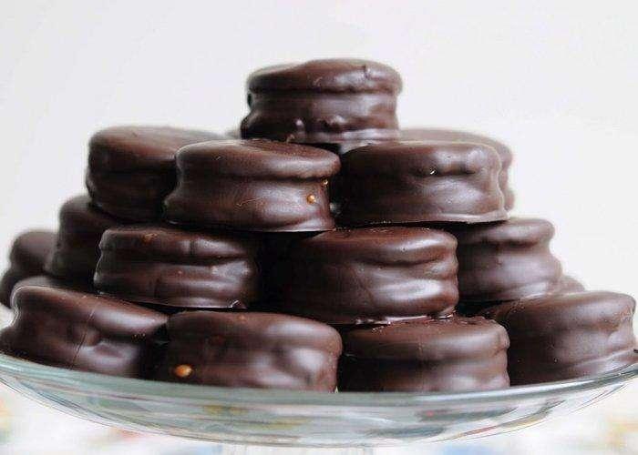 Alfajores Artesanales de chocolate