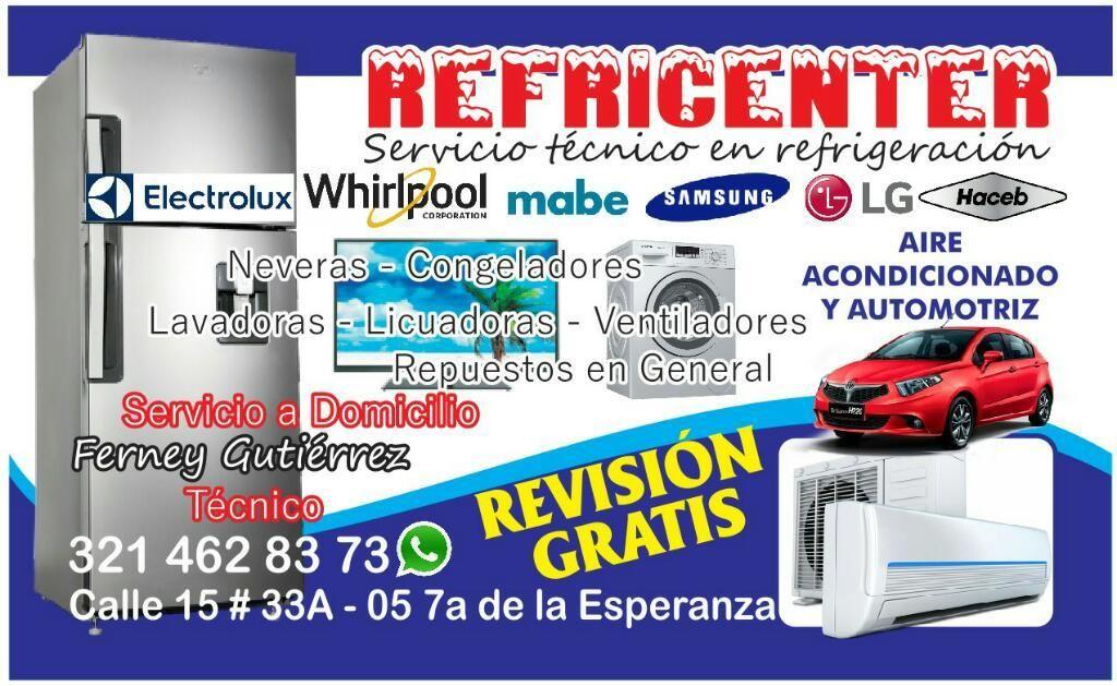Servicio Tecnico Aires Neveras Lavadoras