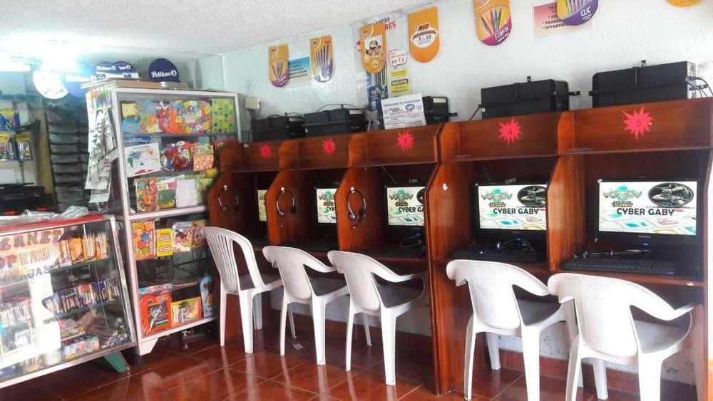 SE VENDE <strong>bazar</strong>, PAPELERIA E INTERNET DE OPORTUNIDAD