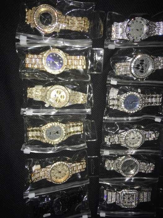 Relojes Diamantados Americanos