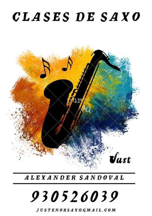 Clases de Saxofón Piura