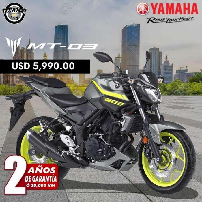 MOTO <strong>yamaha</strong> MT-03 2019 -SOAT GRATIS