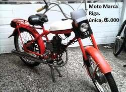 Bici Moto rusa Funcionando