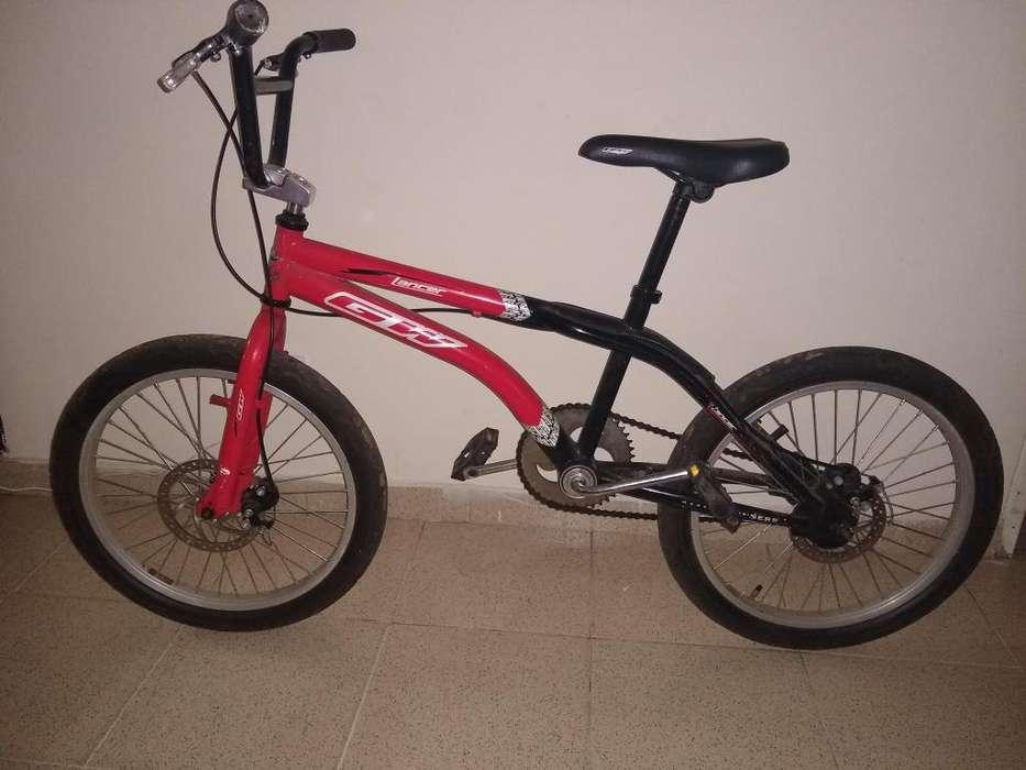 BICICLETA PARA NIÑO BMX CAJA ANCHA FRENO DISCO