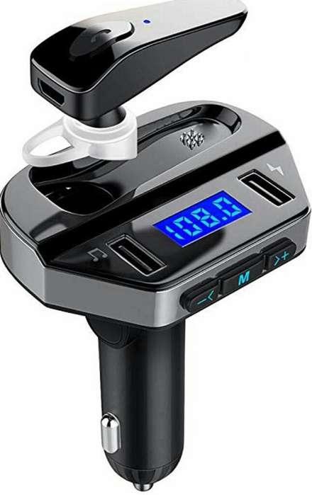 Bluetooth Fm Transmisor para Carro