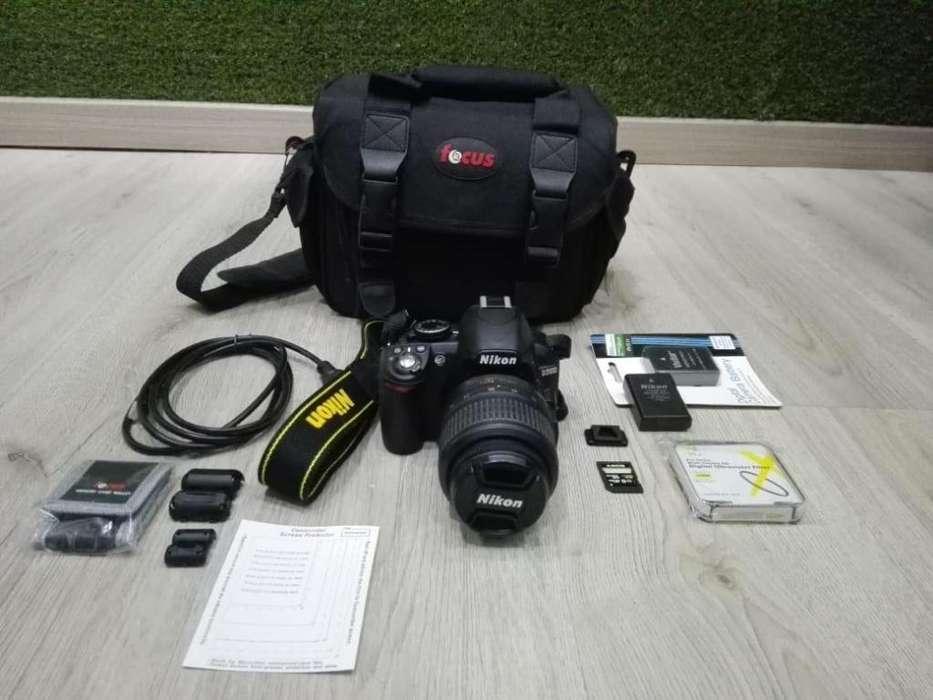 Cámara Nikon D3100lente 18-55tripode En ¡perfecto Estado!