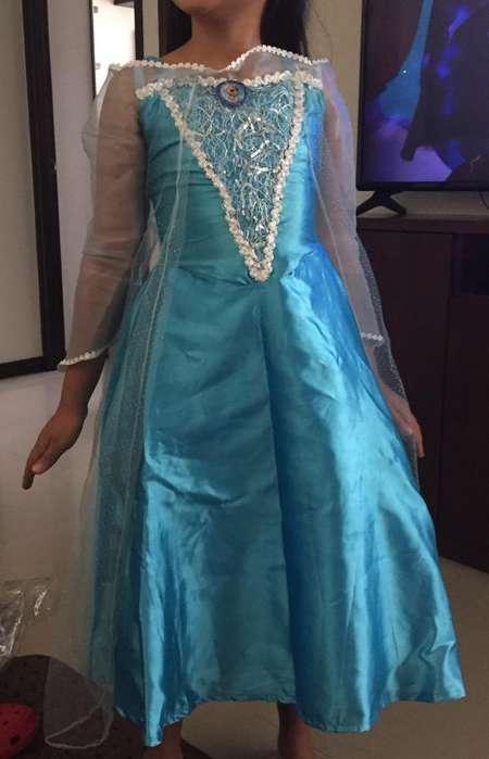 Disfraz Niña Elsa 6-8 Años