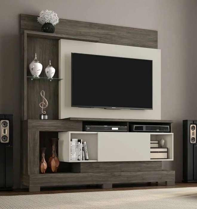 RACK MUEBLE TV para tv de hasta 50 pulgadas