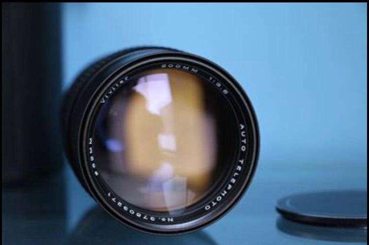 Lente 200Mm 3.5 para Canon