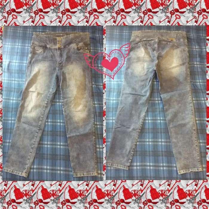 Jean para Mujer Talla XXL Buena Calidad Marca Angela Andrea poco uso estado 9/10