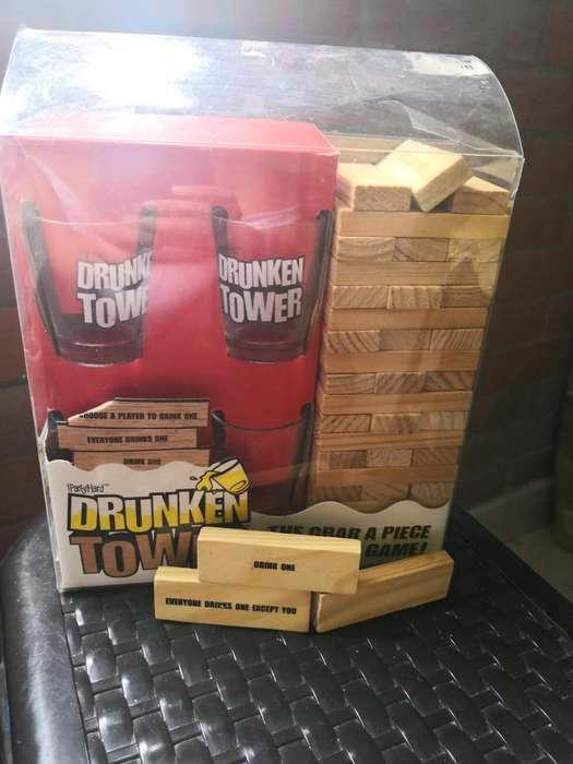 Drunk Tower - Jenga para beber