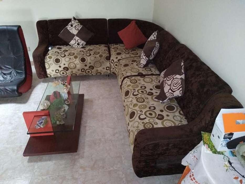Sofa en L de 2 X 2