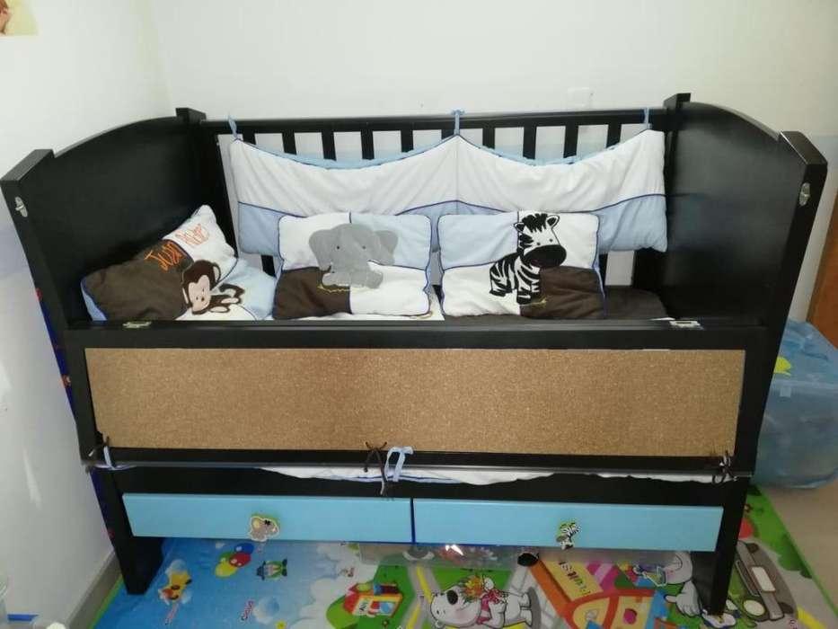 Se vende cuna y cama para beb completamente nueva