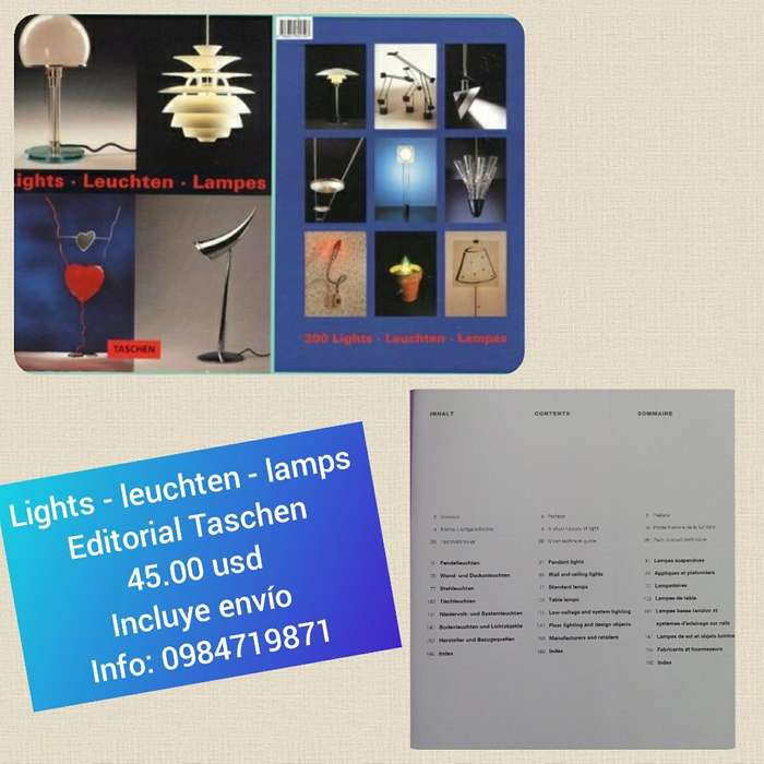 Lámparas Taschen