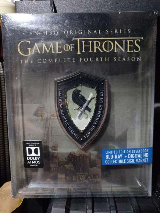 Game Of Thrones Blu-ray Temp 4 (ed. Lim)