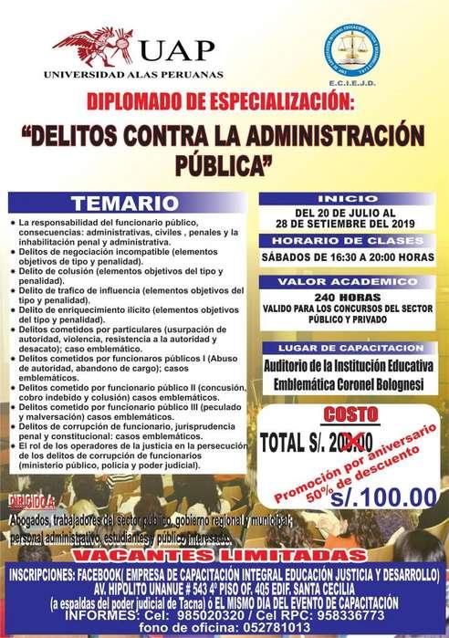 DIPLOMADOS EN CONVENIO CON LA UNIVERSIDAD ALAS PERUANAS