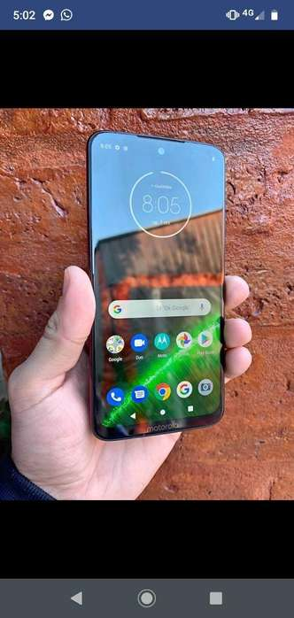 Motorola G7 Plus Impecable Libre