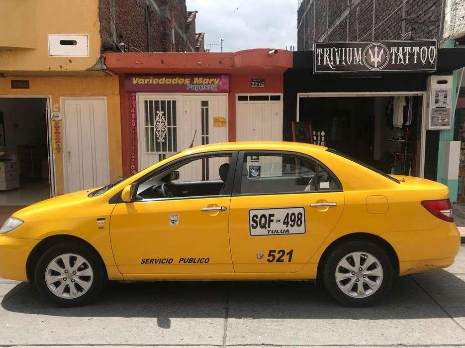 Taxi BYD,afiliado a la cooperativa.