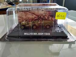1/72 Jeep Willys MB 1945 Auto Mirage Sukhoi Tanque Helicoptero Barco Mig