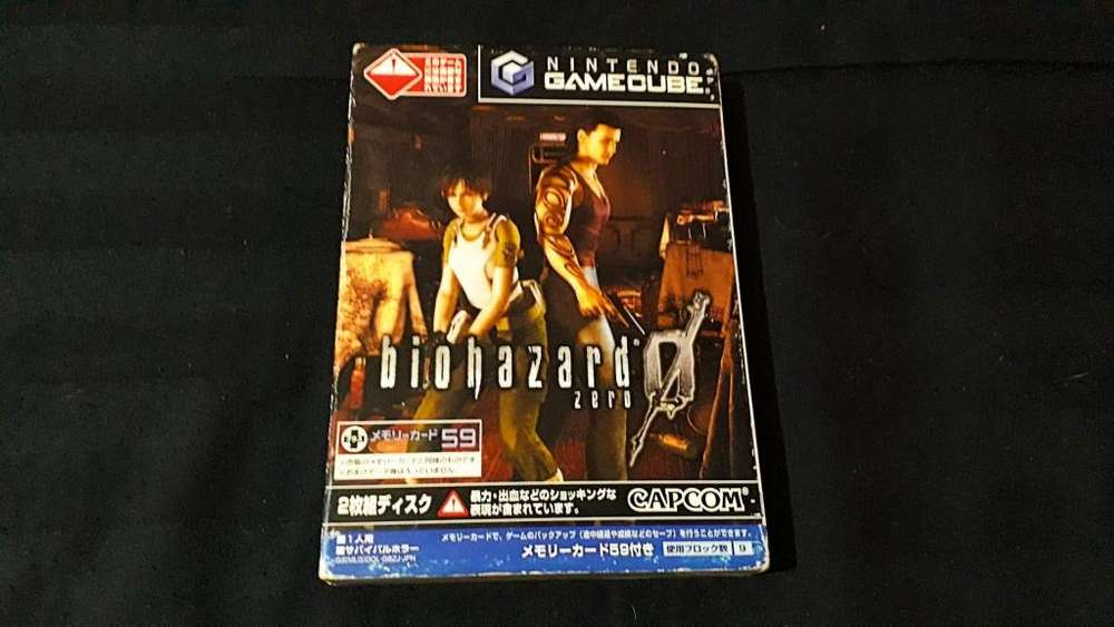Juego Gamecube Japones Resident Evil Zero