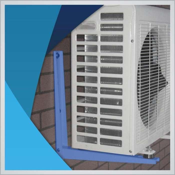 Mensula Para Aire Acondicionado blaNCAS largo 49 cm precio x par