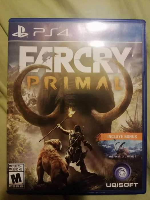 Vendo FARCRY PRIMAL PS4