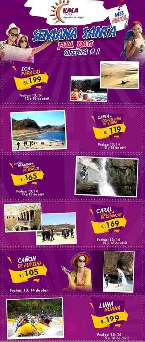 Counter con experiencia en venta de paquetes turisticos