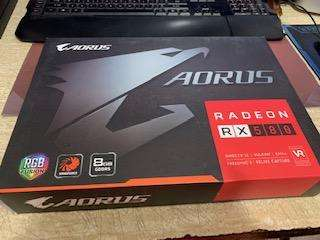 Tarjeta de Video Gygabyte Radeon RX 580