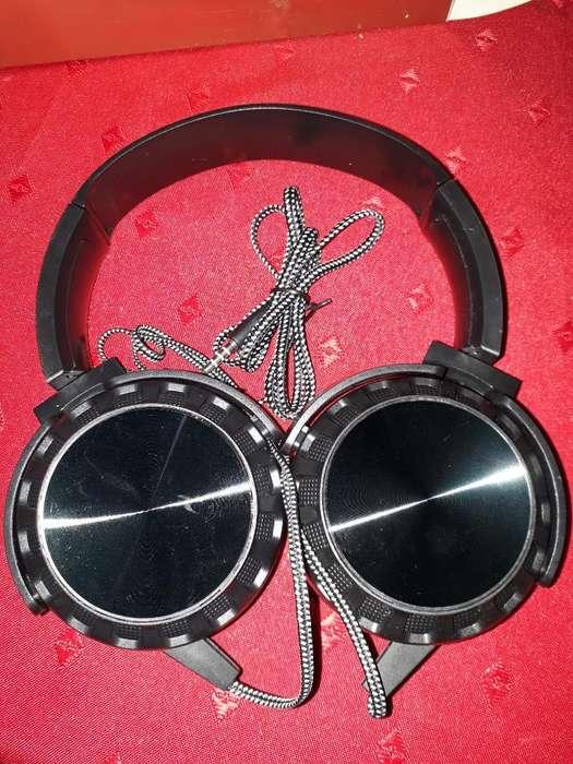 Auriculares Negros Dj