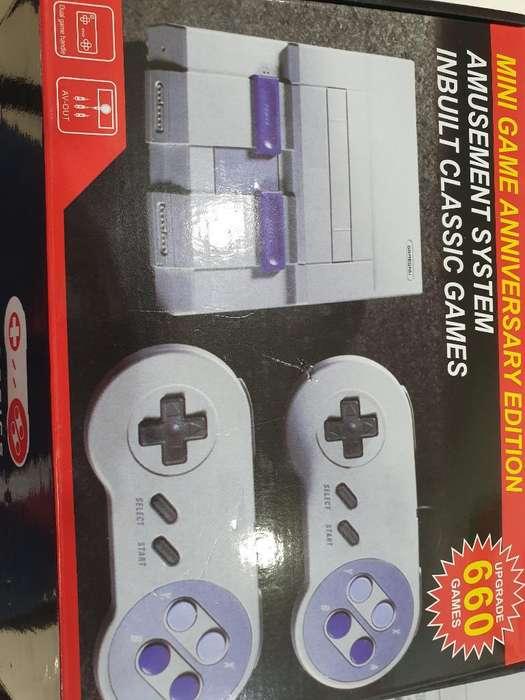 Super Nintendo 660 Juegos