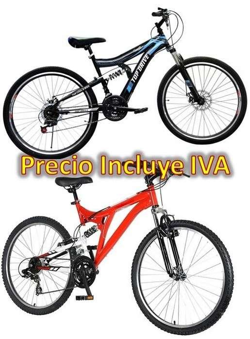 Bicicleta Aro 26 Partes Shimano 21 Velocidades Frenos De Disco 2018 PRECIO INCLUYE IVA