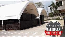Carpas Cualquier Ocasion solo Cartagena de India