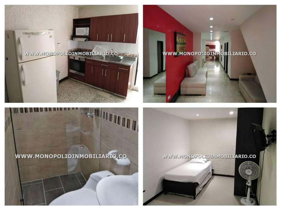 rento apartamento amoblado en el poblado código17437