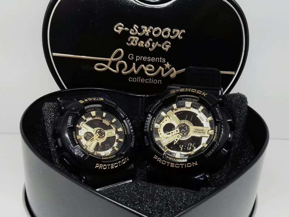 Reloj Casio G Shock, Baby G Negro Dora