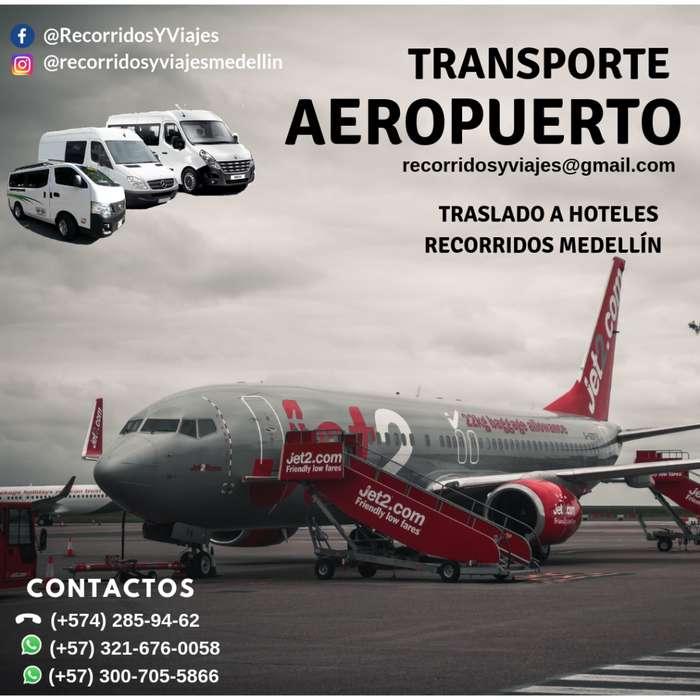 SERVICIO DE TRANSPORTE PARA REUNIONES, FIESTAS, TRASLADO DE PERSONAL EN MEDELLÍN