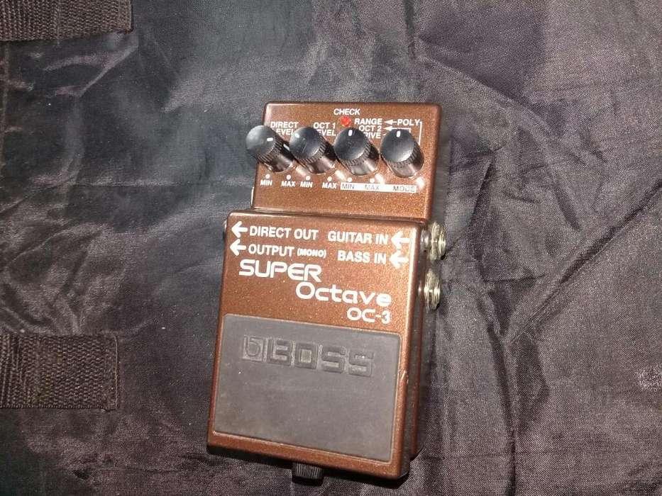 Octavador. Perm.x Guitar Sg O Les O Paul