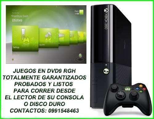 JUEGOS DE XBOX 360 CON CHIP