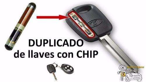 DUPLICADOS DE LLAVES CON CHIP