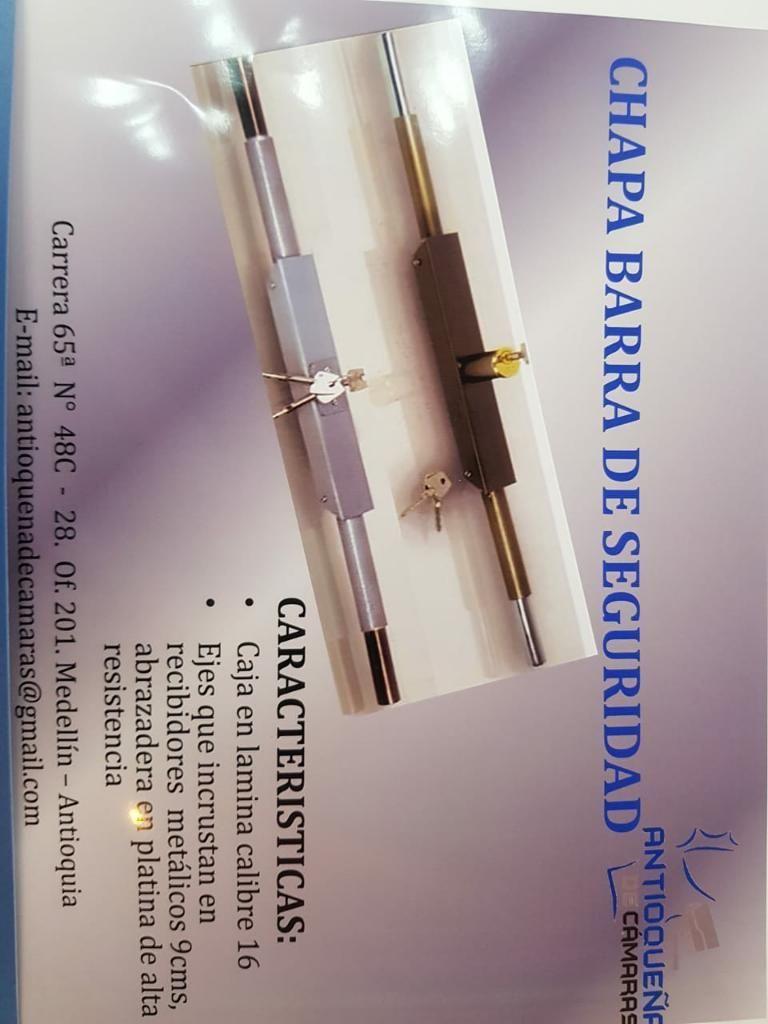 Chapa Barra , Seguridad para Su Negocio