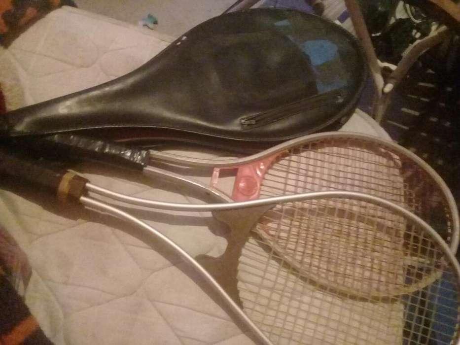 Vendo Raquetas con Funda