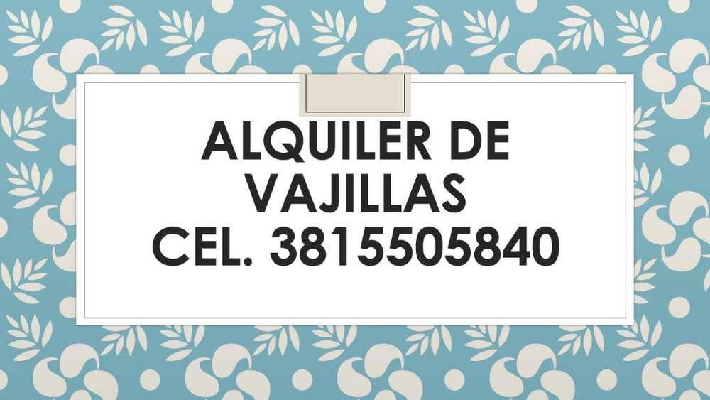 Alquiler de Vajilla. promociones