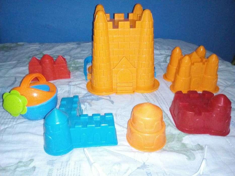 Moldes para Castillos de Arena